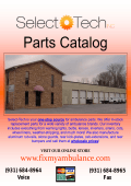 Parts Catalog - Select-Tech Inc.