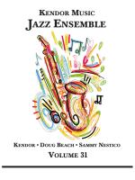 JAZZ ENSEMBLE - Kendor Music