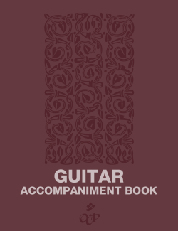 Guitar Accompaniment Book - OCP