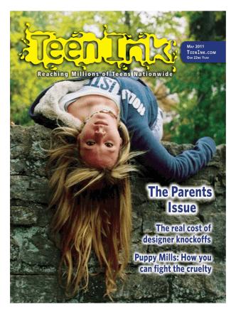 Cover Reflected Boy(art) - Teen Ink
