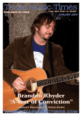 "Brandon Rhyder ""A Year of Conviction"" - Americana Music Times"
