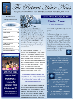 January - May 2014 newsletter.pub - Spiritual Center of Maria Stein