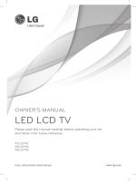 Owners Manual - LG Electronics