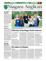 Niagara Anglican Newspaper - October 2009 - Anglican Diocese of