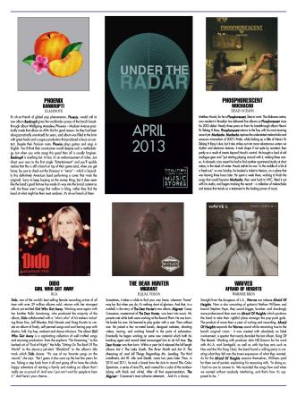 APRIL 2013 - CIMS