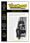More from the interview in ToneQuest Report - Stephen Bruton