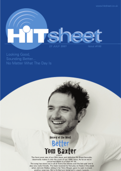 issue #100 - Hit Sheet