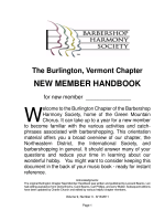NEW MEMBER HANDBOOK - Green Mountain Chorus