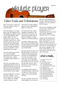 Video Trials and Tribulations - Tricorn Publications