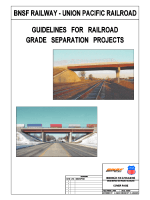 Joint BNSF/UPRR Guidelines for Railroad Grade - Union Pacific