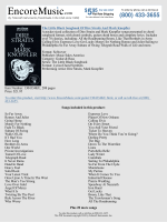 Guitar Sheet Music - The Little Black Songbook Of Dire Straits And