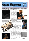 Volume 33, No. 4 - Central Texas Bluegrass Association