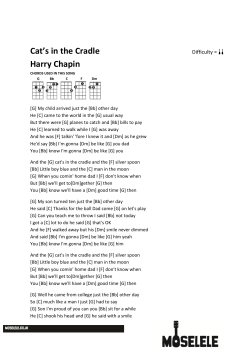 Cats in the Cradle Harry Chapin - Moselele