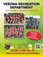 2014 Spring Summer Brochure - ActivityReg