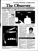 Cooke, Dink win SBP /VP election in landslide - Archives - University