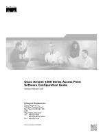 Cisco Aironet 1200 Series Access Point Software Configuration Guide