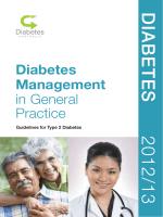 Diabe T es 2012/13 - Diabetes Australia