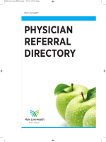 PHYSICIAN REFERRAL DIRECTORY - Main Line Health
