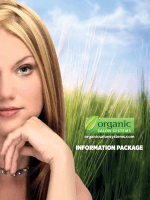 INFORMATION PACKAGE - Organic Color Systems