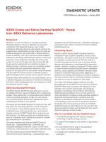 IDEXX Canine and Feline Diarrhea RealPCR Panels - IDEXX