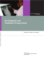 The Diagnosis and Treatment of Lung Cancer - The Royal College