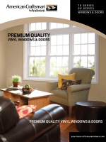 PREMIUM QUALITY - American Craftsman by Andersen