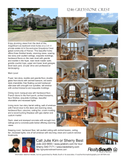 1246 Greystone Crest Call Julie Kim or Sherry Best