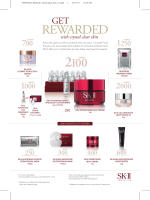See the New Crystal Club Redemption List - SK-II
