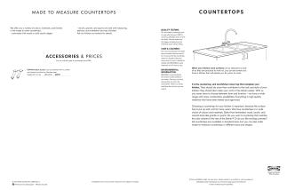 COUNTERTOPS - Ikea