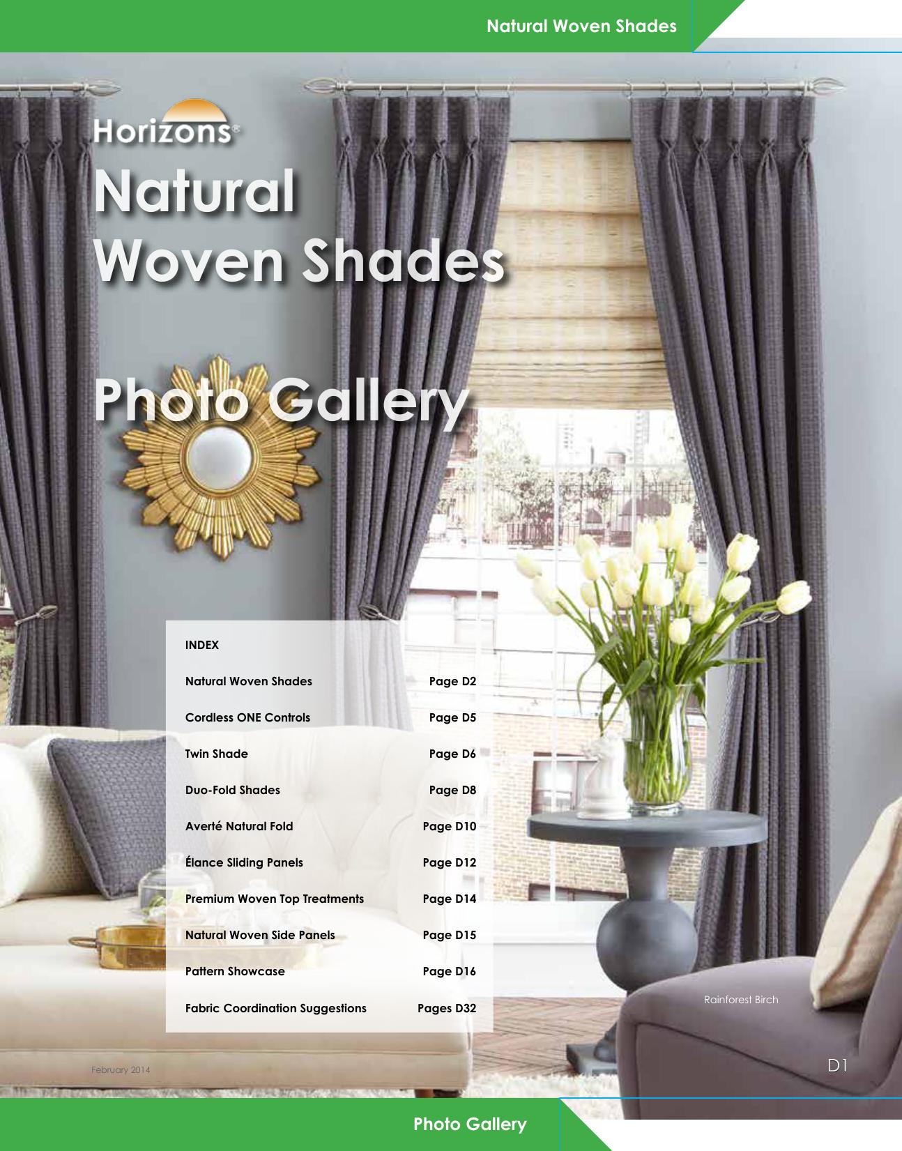 Natural woven shades photo gallery horizons window fashions for Natural woven flat fold shades