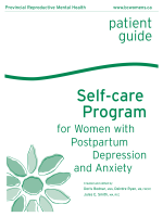 Self-care program for women with postpartum depression - BCAPOP