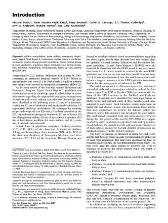 Asthma exacerbation - American Thoracic Society