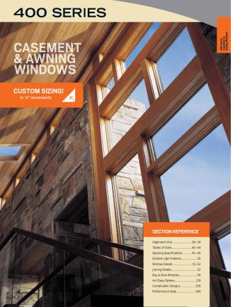400 Series Casement Awning Windows - Andersen Windows at