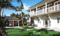Miami Home Décor Click to download PDF - Foley Cox