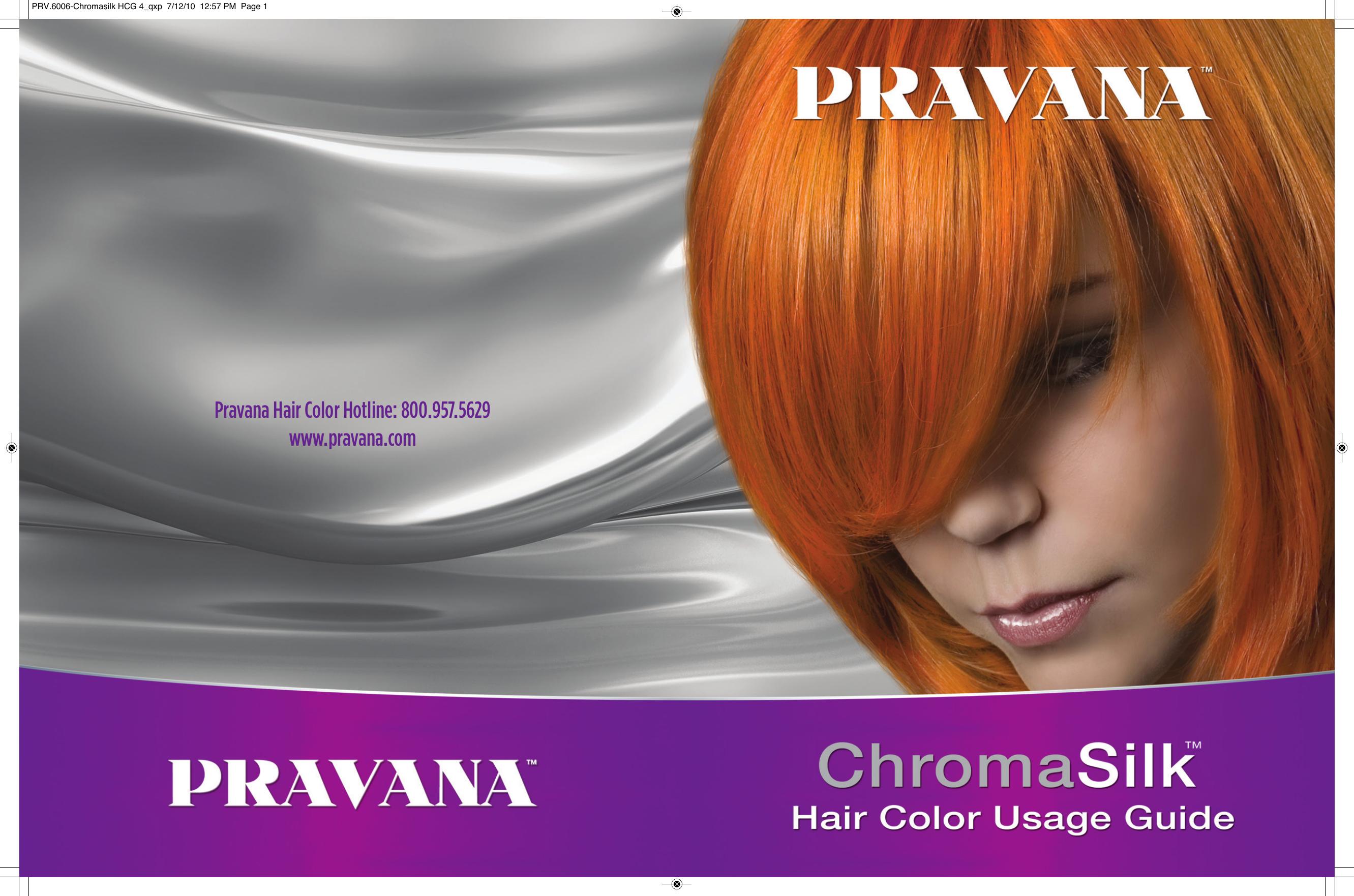 Pravana Hair Color Hotline 8009575629 Pravana