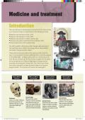 Medicine and treatment - Pearson Schools