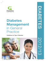 Diabetes Management in General Practice - Diabetes Australia