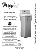 Owners Manual - Whirlpool Water Softeners and Filters by Ecodyne