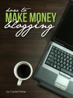 How To Make Money Blogging - Not found, error 404