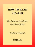 How to Read a Paper.pdf - Serviço de Neurologia do HU/UFSC