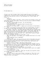 Kafka on the Shore by Haruki Murakami The Boy Named Crow So