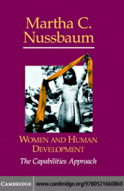 WOMEN AND HUMAN DEVELOPMENT: The Capabilities Approach