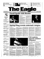 David Spade visits Bender Spring Fling events - Sun C Apache