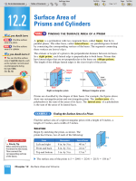 12.2 Surface Area of Prisms and Cylinders - Nexuslearning.net