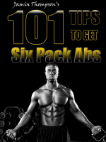 101 Tips To Get Six Pack Abs - PerfectBodyRx.com