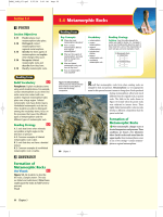 3.4 Metamorphic Rocks