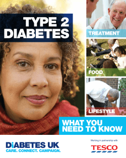 Type 2 diabetes – What you need to know - Diabetes UK
