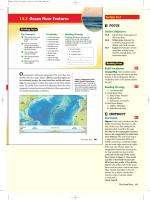 14.2 Ocean Floor Features