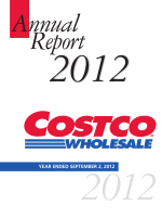 Costco 2012 Annual Report - Investor Relations Solutions