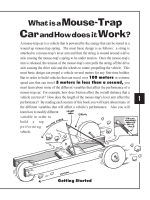 Mousetrap Car Tips and Tricks